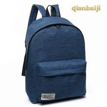 Student Canvas Backpacks Shoulders Girls Bag Tide Small School Bags Laptop Backpack Male Travelling Mochila Bagpack Back Pack