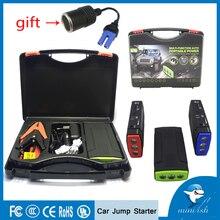 MiniFish лучшие продажи продуктов 68000 mAh 600A Батарея Зарядное устройство Портативный мини-автомобиль скачок стартер бустер Мощность банка для автомобиля 12 V