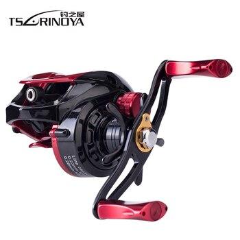 Tsurinoya Baitcast Reel XF-50 9+1BB 190g 4kg Max Drag Magnet Brake System Aluminum Alloy Lightweight Spool Fishing Reel