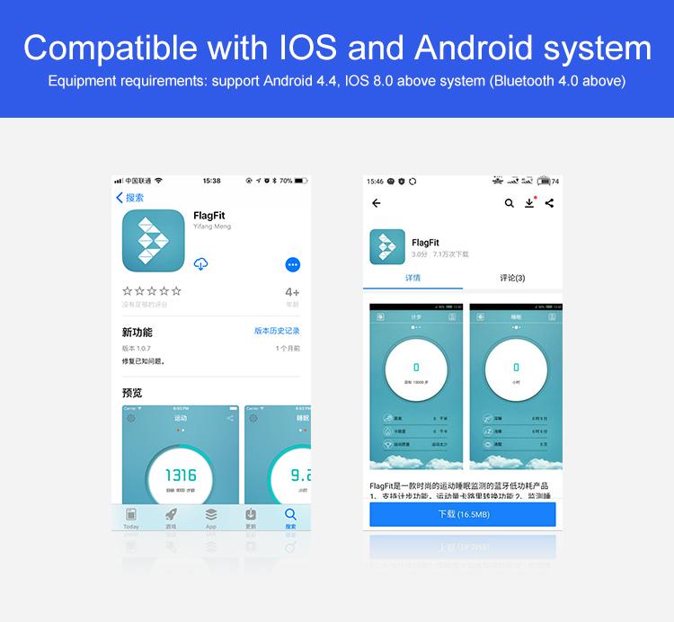 Montre intelligente pour Android IOS 4