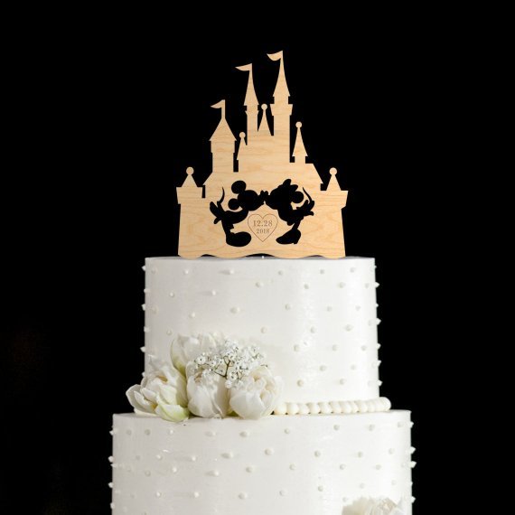 Castle Cake Topper Wedding Mouse Toppers With Initial In Decorating Supplies From Home Garden On Aliexpress Alibaba Group