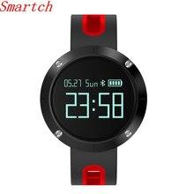 Smartch Новый Bluetooth Smart Браслет DM58 сердечного ритма артериального давления Смарт Браслет Водонепроницаемый IP68 smartband для IOS Android