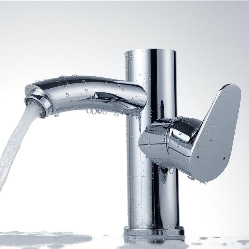 Bathroom digital Faucet crane bathroom faucet with display basin ...