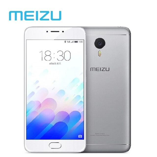 """Оригинальный Meizu M3 Note Глобальный Версия Сотовый Телефон Android 3 Г 32 Г MTK Helio P10 Окта Отпечатков Пальцев 5.5 """"4100 мАч OTA Обновления"""