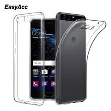EasyAcc For Huawei P10 lite Transparent Slim Anti Slip Case Soft TPU Crystal Clear Full Protector Cover Plus