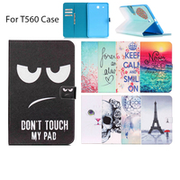 For Samsung Galaxy Tab E 9 6 T560 T561 Case Luxury Colorful PU Leather Wallet Protector