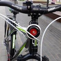 Usb 충전 자전거 벨 알람 사이클링 뿔 전자 자전거 핸들 막대 강력한 시끄러운 벨 소리 자전거 안전 도난 방지 경보