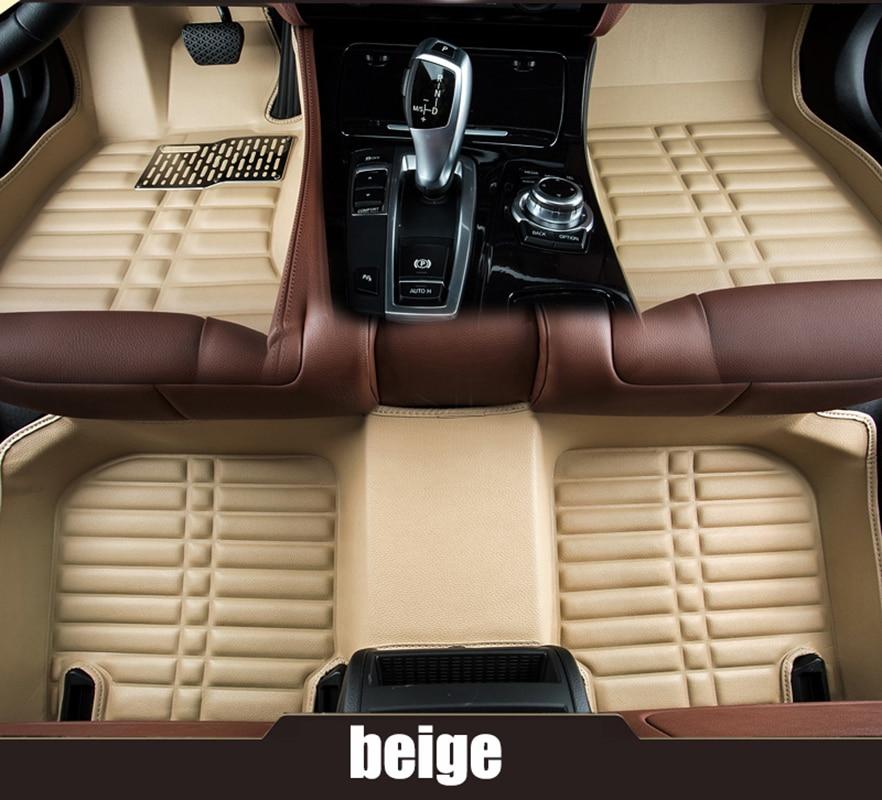 kalaisike Custom car floor mats for Mitsubishi all models asx outlander lancer pajero V96 V73 car accessorie car styling chrome plated exterior door outside handle for mitsubishi outlander cu2w cu4w 4g64 4g69 lancer cs3a cs5a cs6a mr970227 mr970228