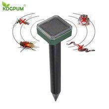 Уличный Садовый Солнечный ультразвуковой репеллент мышь Отпугиватель змей для выведения насекомых Отпугиватель охраны окружающей среды нетоксичный
