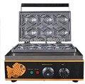 Машина для приготовления Блинов электрическая Вафля в виде рыб машина для приготовления тортов Гальваническая закуска машина для выпечки ...