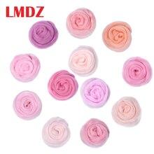 LMDZ 12 цветов Розовый шерстяной волокнистый ровинг для игл для валяния ручного спиннинга DIY забавная кукла рукоделие НЕОБРАБОТАННАЯ Шерсть Войлок poke 50 г