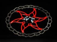 Ultra Light ASHIMA ARO 09 Mountain Bike Road Bicycle 160mm Bike Disc Brake Pad Block Lining Rotor 6 Bolts