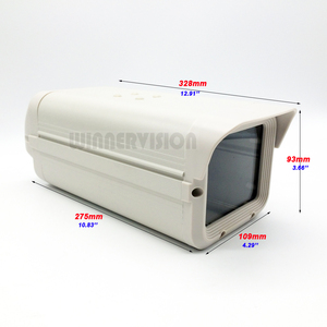 Image 1 - Внешний корпус для камеры видеонаблюдения 275x109x93 мм, алюминиевый серый защитный чехол