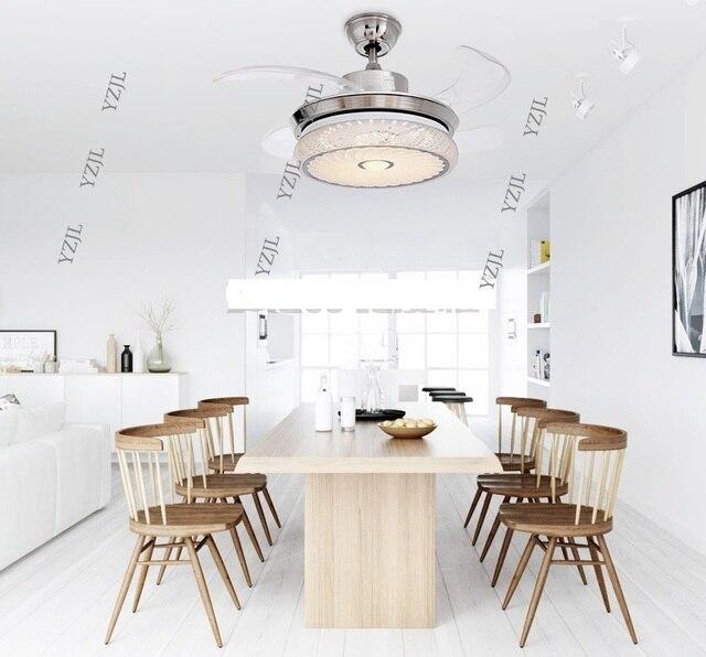 Led stealth vouwen plafond ventilator verlichting minimalisme ...
