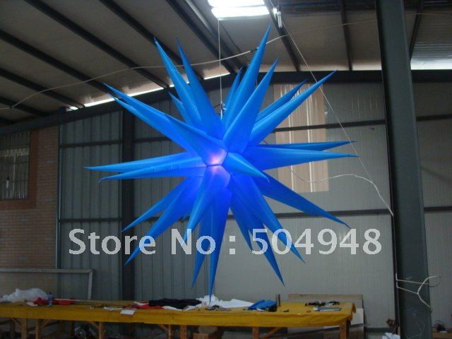 inflatable lighting star for party decoration inflatable party sun decoration inflatable light star