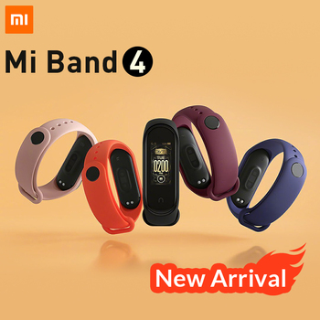 In Stock Original Xiaomi Mi Band 4 Smart Bracelet Heart Rate Monitor Fitness Tracker Full colour AMOLED display Waterproof BT5.0 1