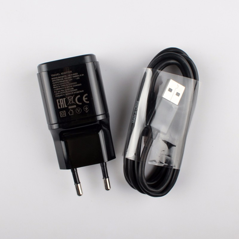 Wall Charger US Plug 1.8A Travel Adapter +Cable for LG G2 G3 G4 Black