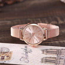 Women Stainless Steel Lady Bracelet Watch vansvar Brand Elegant Dial Quartz Casual Wrist Watch Clock Gift reloj mujer #D(China)