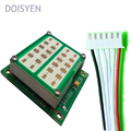 red led light speed display 45km/h speed detector board module
