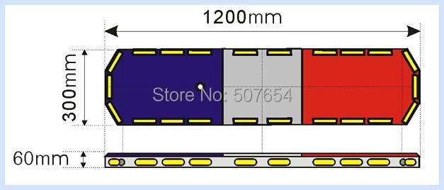 Υψηλότερο αστέρι 120cm 88W led προβολέα - Φώτα αυτοκινήτων - Φωτογραφία 5