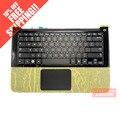 ДЛЯ Samsung NP900X3A notebook клавиатура с c shell с подсветкой сенсорная панель динамик