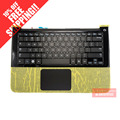 Para samsung np900x3a notebook altavoz touchpad retroiluminado teclado con c shell