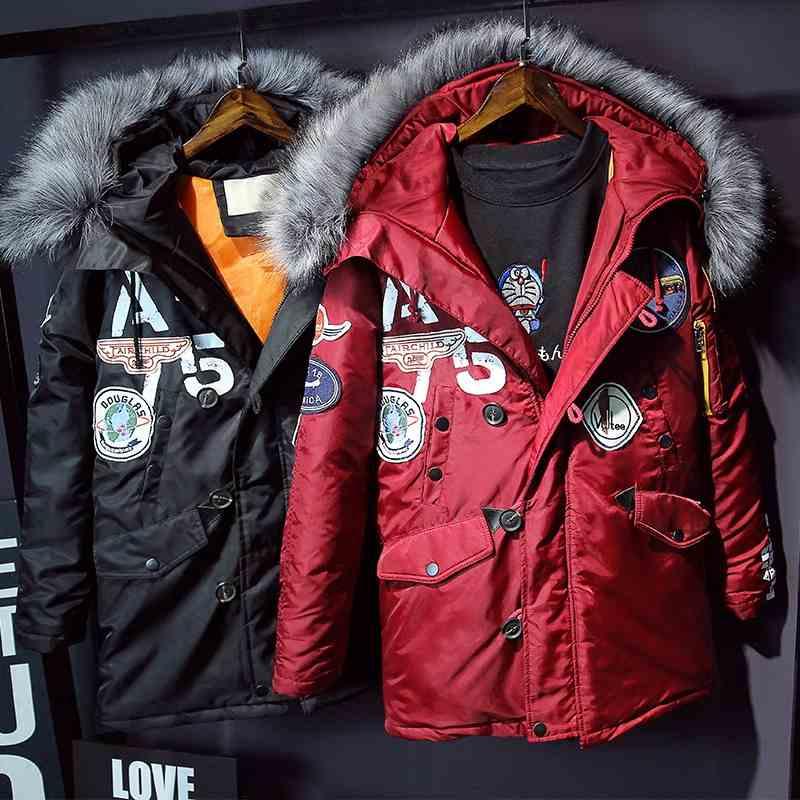 ФОТО Parka Women 2016 Winter Jacket Women Cotton-padded Jacket Wadded Jacket Medium Long Slim Women Winter Coat Outerwear
