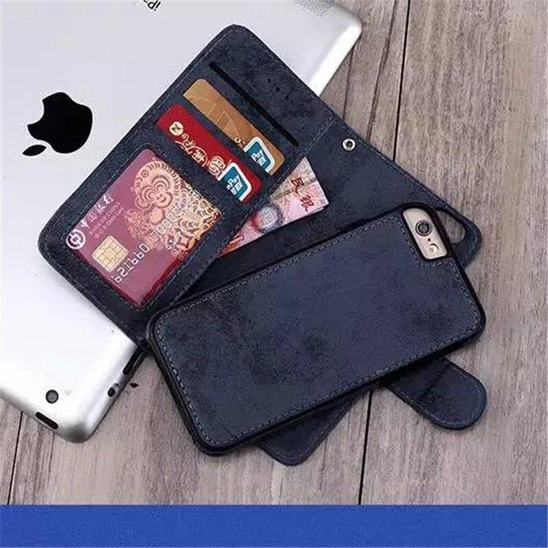 Цена за Роскошный PU Кожа Case Для Apple iPhone 6 S Case 4.7 Дюймов Coque стенд Слот Карточки Бумажника Откидная Крышка Для Fundas iPhone 6 S Case Капа