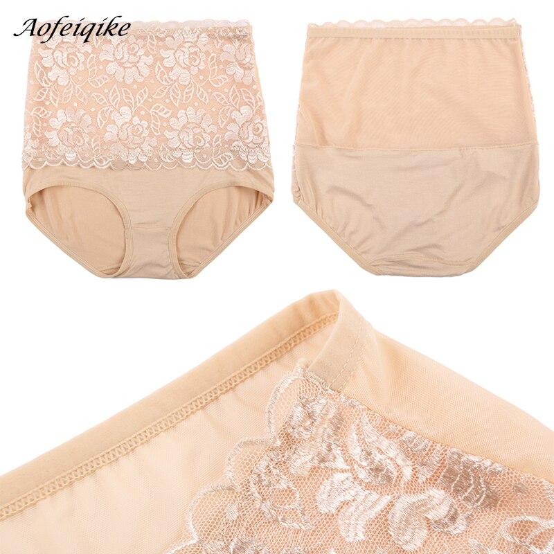 High Waist Body Shaper Briefs Panties Women's Sexy Underwear Slimming Pants Tummy Control Underpants 2018 3