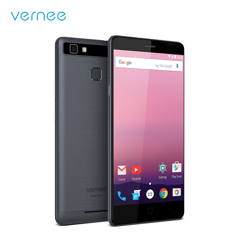 Vernee Thor E 4G LTE Smart Phone Android 7 0 MTK6753 Octa Core 3 16 Fingerprint