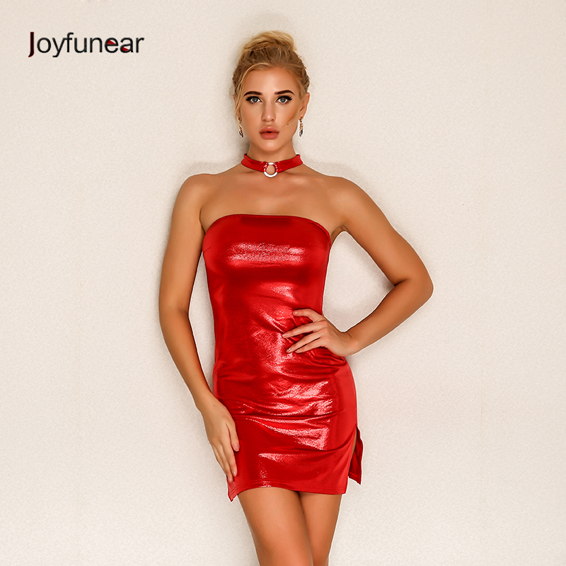 Dresses Joyfunear Strapless Off Shoulder Sleeveless Lift Up Drawstring Ruched Pleated Mesh Women Bodycon Club Party Mini Dress New To Reduce Body Weight And Prolong Life