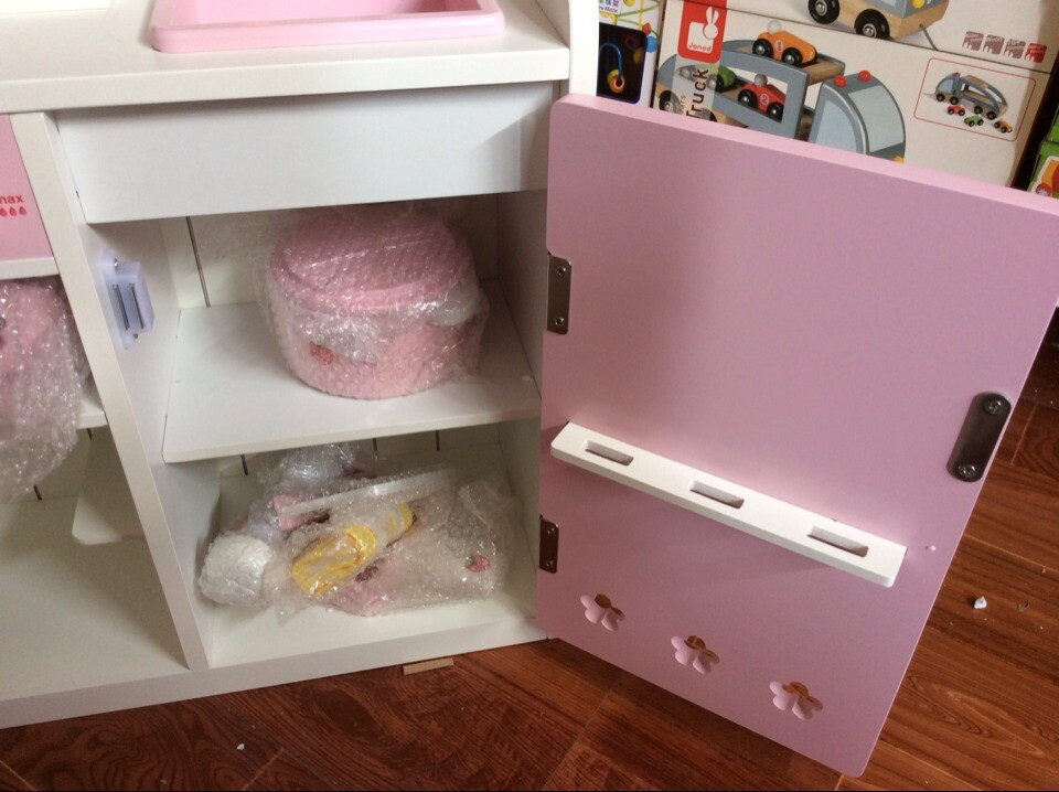 Houten Keuken Speelgoed : Gratis verzending baby speelgoed houten keuken speelgoed set