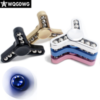 1pcs Fidget Spinner Big Steel Ball Aluminum Hand Spinner Disassemble Replaceable Stain Steel Ceramic Ball Bearing