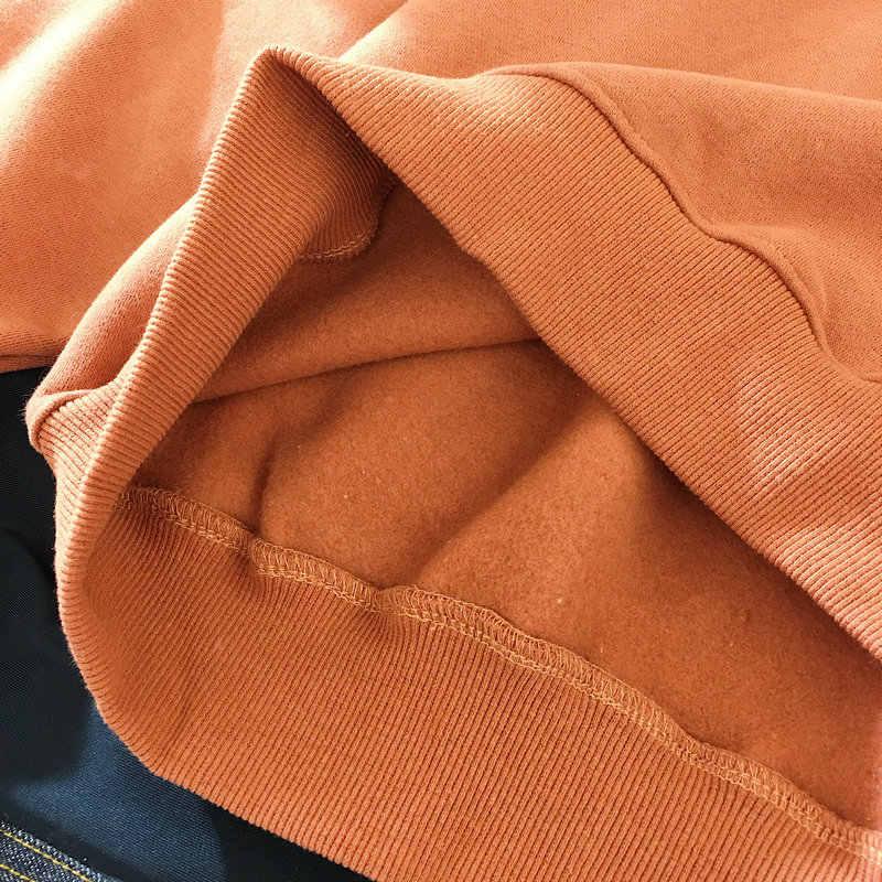 Winter Frauen Mode Hoody Sweatshirt Stickerei Harajuku Liebe Herz Fleece Dame Hoodie Lose Langarm Weibliche Casual Pullover