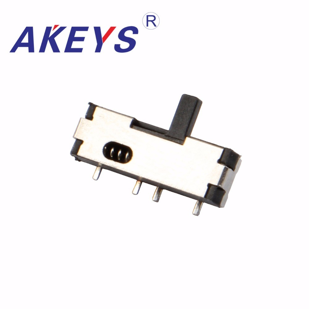 Switches Lighting Accessories Impartial 10pcs Mss-12b10 Mini Slide Switch 1p2t Spdt Smd Smt 4 Pin 2 Position Left Reset Mini Toggle Switches Msk-06 Skillful Manufacture