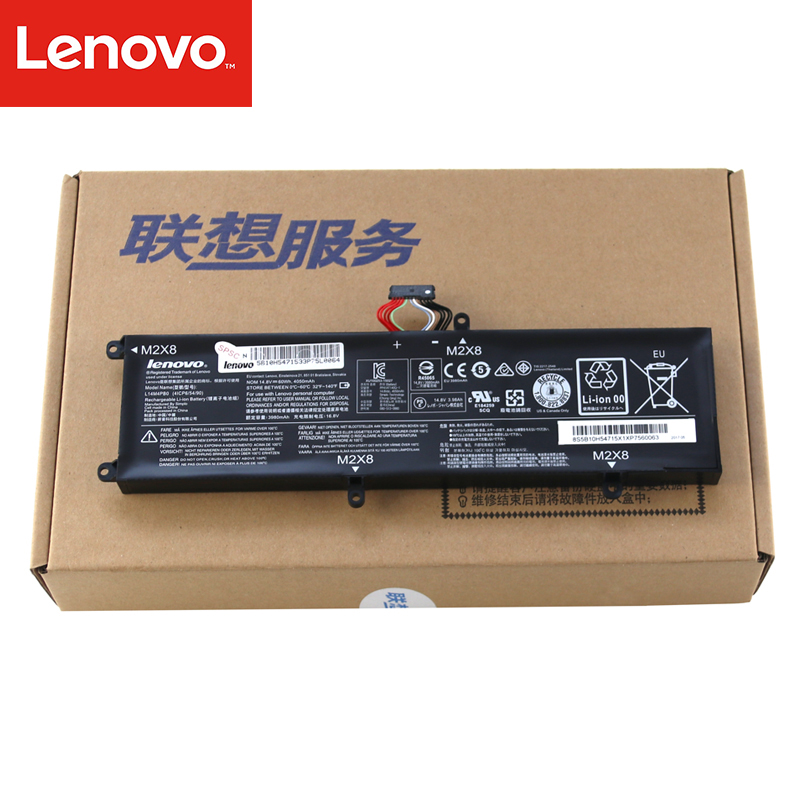цена Original Laptop battery For Lenovo ThinkPad 14-I5 14-I7 14-ISK 15 i7 15-ISK Rescuer 14-ISK-I5 15-ISK-I7 15ISK L14S4PB0 L14M4PB0