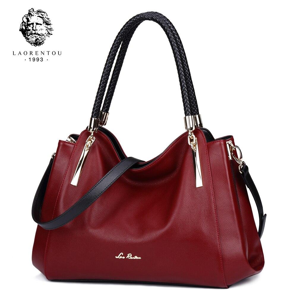 LAORENTOU Women Bags Leather Luxury Handbag Womens Bags Valentines Day Present Ladies Casual Tote Purse Fashion Crossbody Bags