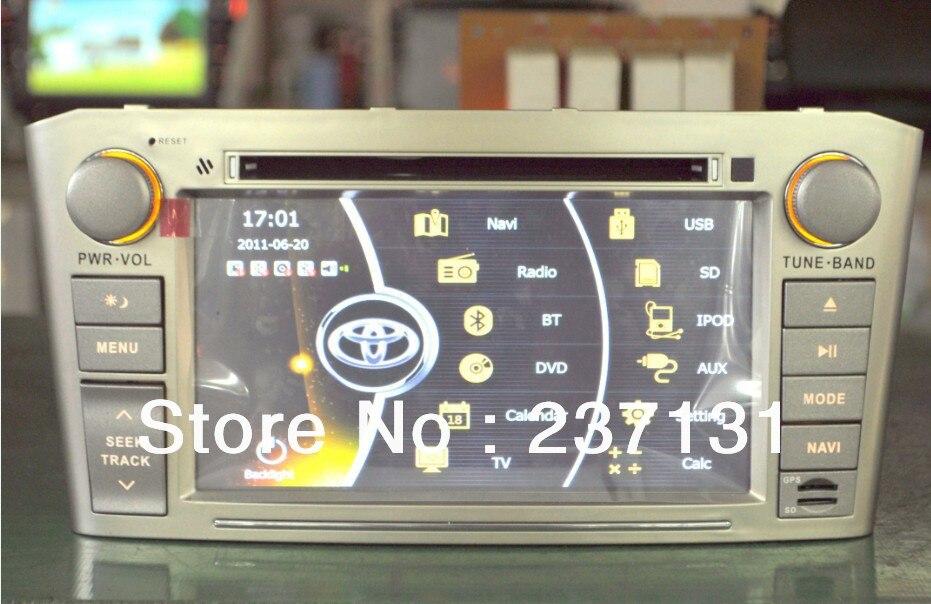 toyota avensis t25 car dvd player car multimedia autoradio. Black Bedroom Furniture Sets. Home Design Ideas