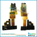 Para sony xperia zr m36h sensor de micrófono de auriculares jack de audio para auriculares flex cable, mejor calidad