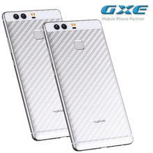 3D Carbon Fibre Skin Sticker (Not Tempered Glass) Back Film For Huawei P9 P9lite