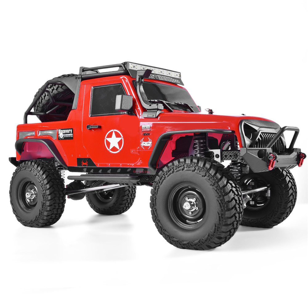 RGT RC Crawler 1:10 Scale 4wd RC Car Off Road Truck RC Rock Cruiser EX86100PRO Rock Crawler RTR 4x4 Waterproof RC Toys image