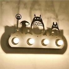 Aplique de pared Industrial Vintage de hierro, lámpara de pared para el hogar con 4 luces, lámpara de noche para dormitorio