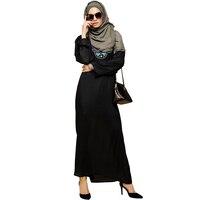 Babalet Womens Elegant Modest Muslim Islamic Dubai Full Length Abaya Dress Floral Beads Embroidered Long Sleeve