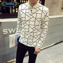 Brands Polo Homme Men 2016 Polo Shirt Long Sleeve Casual Mens font b Camisa b font