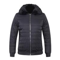 TACE&SHARK BILLIONAIRE cotton jacket men 2018 new style fashion detachable Cowhide snakeskin collar hair natural big size L 6XL