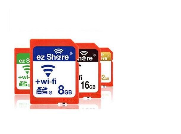 2016 Новое Прибытие в Исходном ЭЗ Поделиться микро tf карты Adpater Wi-Fi беспроводной 8 Г 16 Г 32 Г Карты Памяти CF Карта микро tf карты читатель