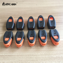 E0455 Newest Whistles Outdoor Lifesaving Whistle Camping Suivival Emergency For Hiking Wholesale EDC 50PCS/LOT