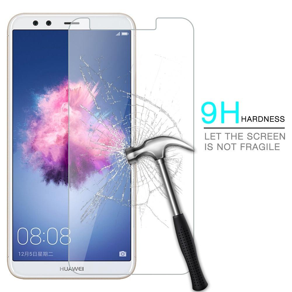 Huawei P Smart FIG-L21 5,65 не полное покрытие закаленное Стекло для huawei Psmart FIG-LX1 наслаждаться 7 s Экран протектор Защитная пленка ...