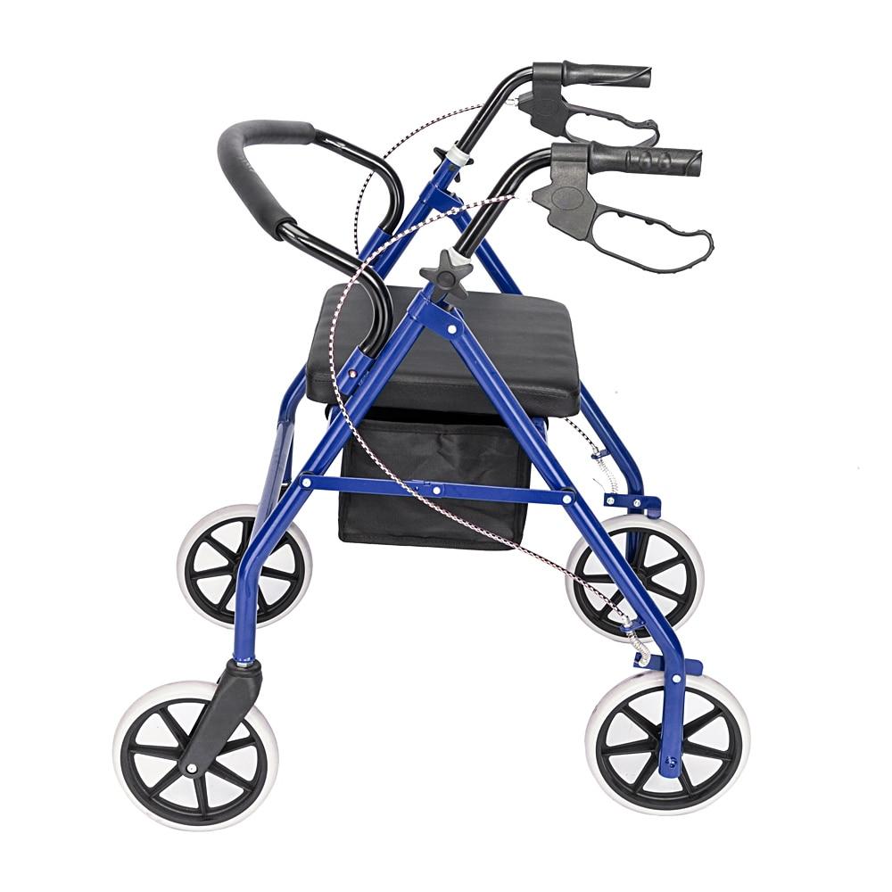 Steel & Nylon Walker With Wheels