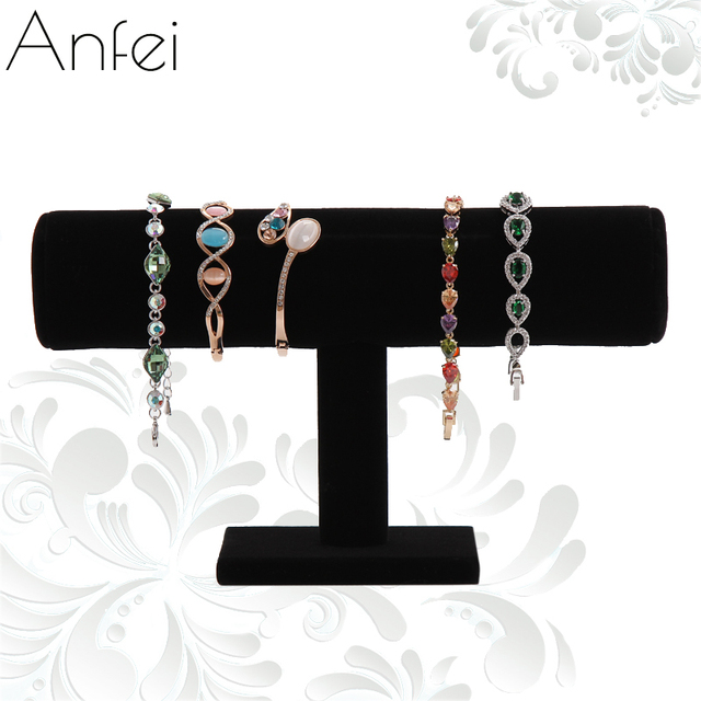 Velvet Bracelet Organizer Rack Bracelet Display Shelf Jewelry